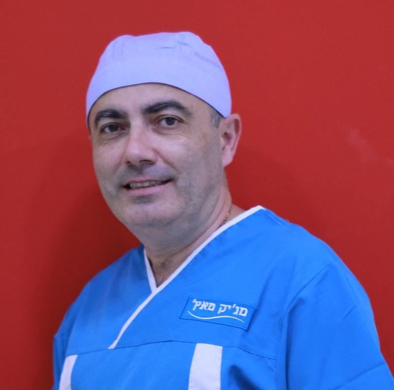 """ד""""ר דזורייב פנחס רופא שיניים העוסק בכירורגיה"""